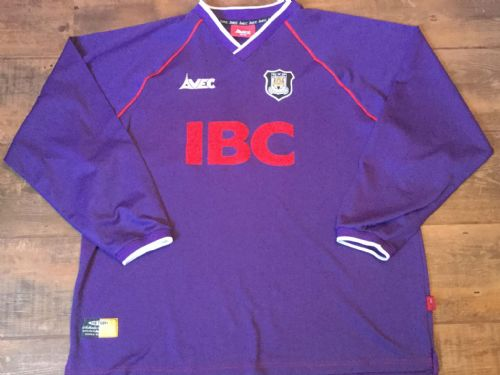1999 2000 Hull City Away L/s Football Shirt Adults XL